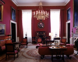 KN-C21454. Red Room, White House