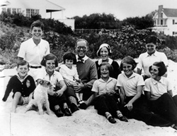 The Kennedy Family at Hyannis Port, 1931