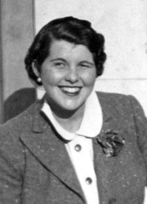 Rosemary Kennedy, April 1940.