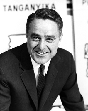 R. Sargent Shriver, first Director of the Peace Corps, circa 1962.