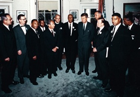 JFK with Civil Rights Leaders