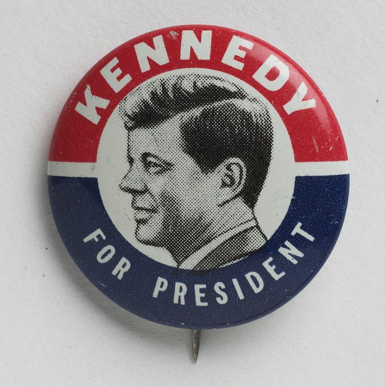 MO 96.247.4 'Kennedy for President' Campaign Button