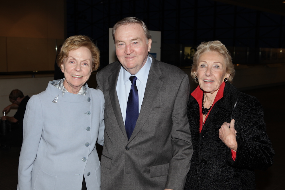 Jill Ker Conway with Richard and Nancy Donahue