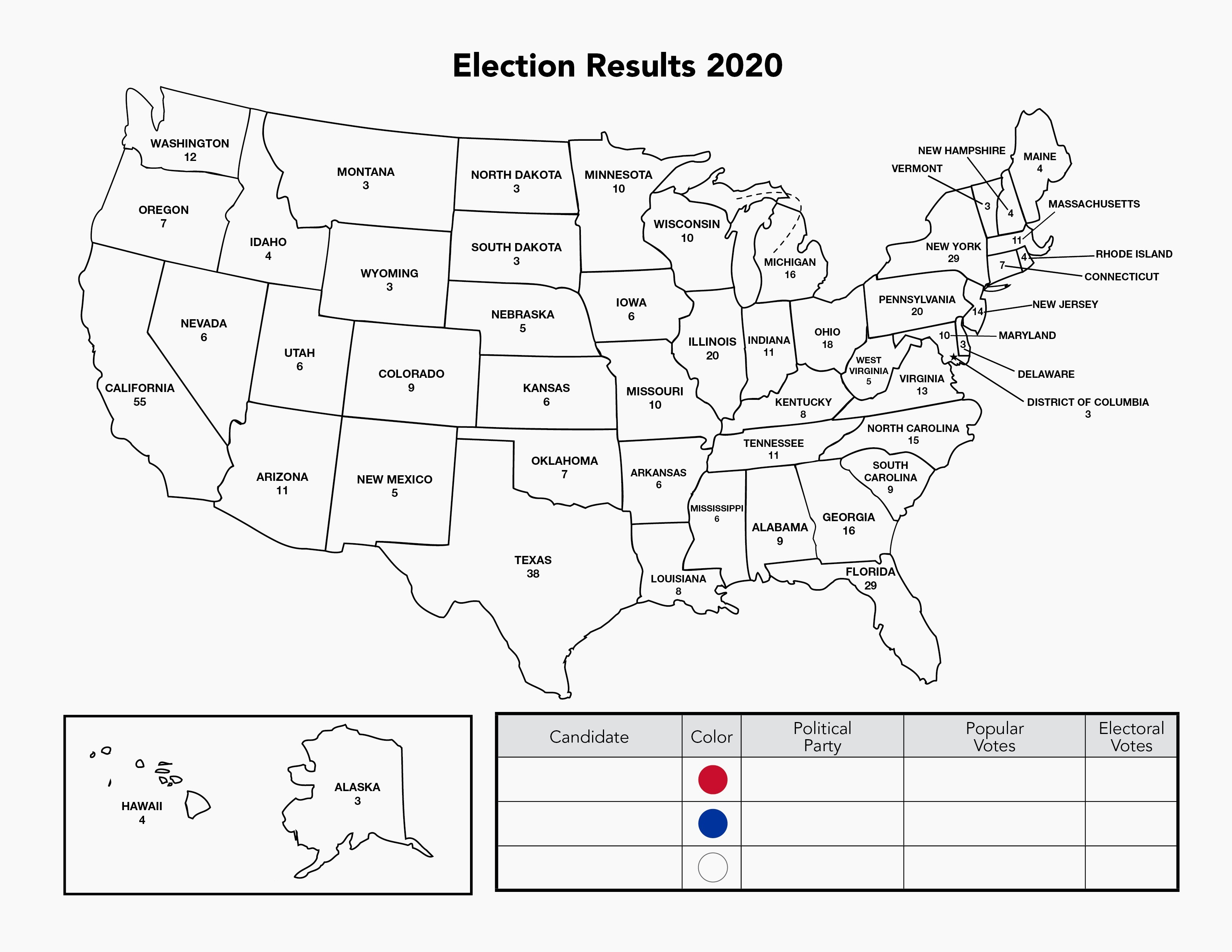 Red States Blue States Mapping The Presidential Election Jfk Library
