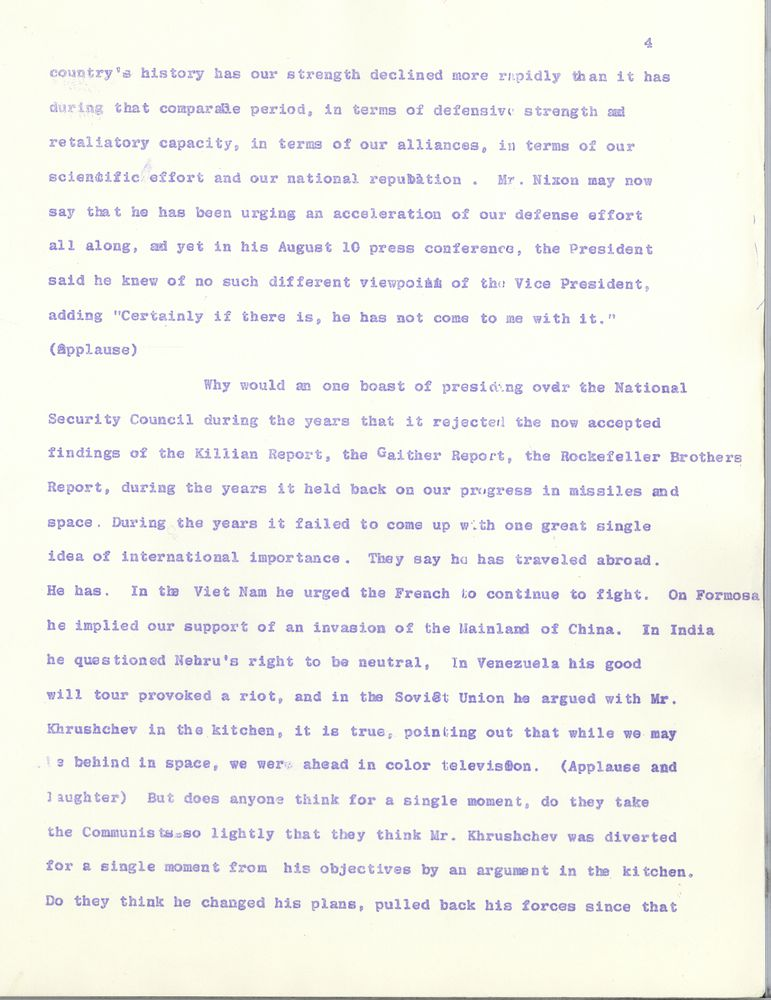 khrushchevs national security failure essay The cuban missile crisis: origins one of the arguments is that khrushchev's chief motive for stationing missiles in cuba was to national security act of.