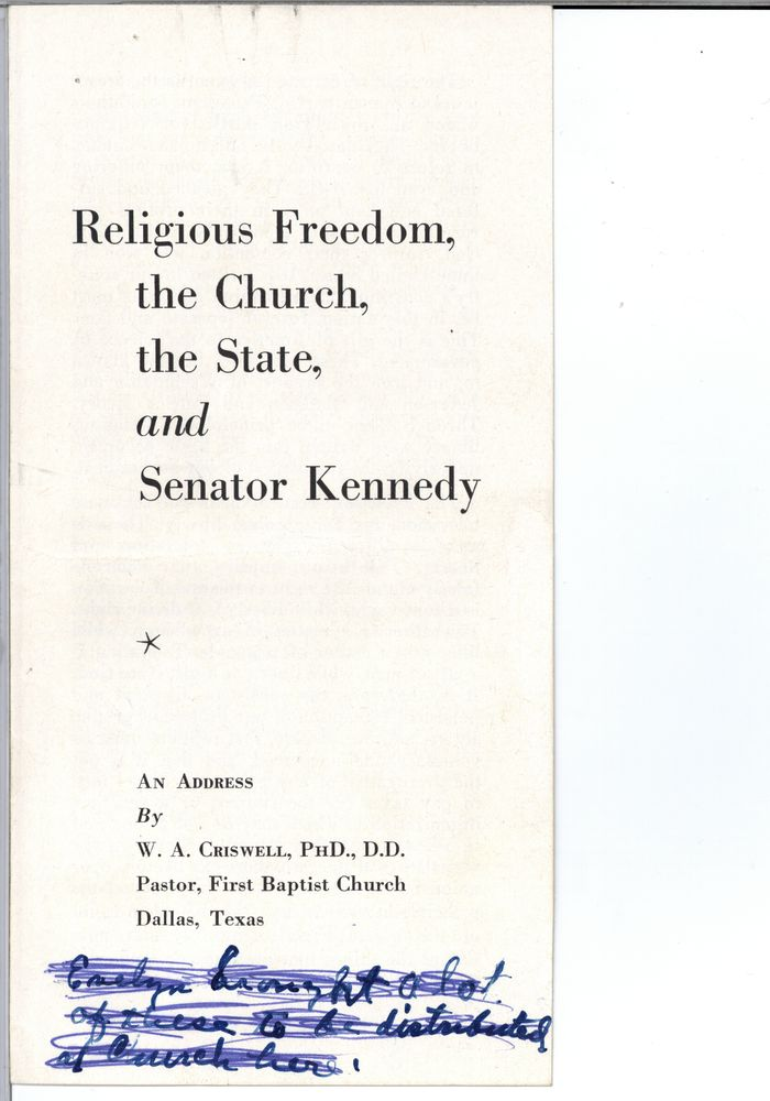 Religious literature: Criswell, Dr. W. A. - John F ...