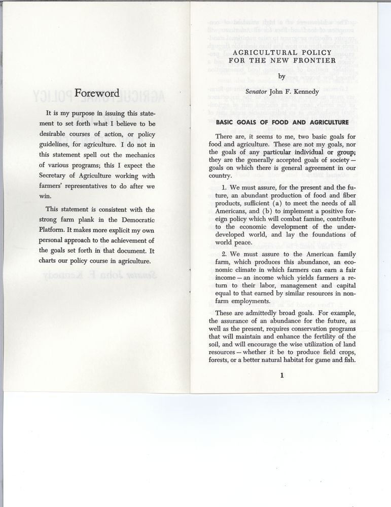 kennedy and a new frontier essay A comparison between john f kennedy's new frontier and lyndon b johnson's great society programs pages 2  sign up to view the rest of the essay.