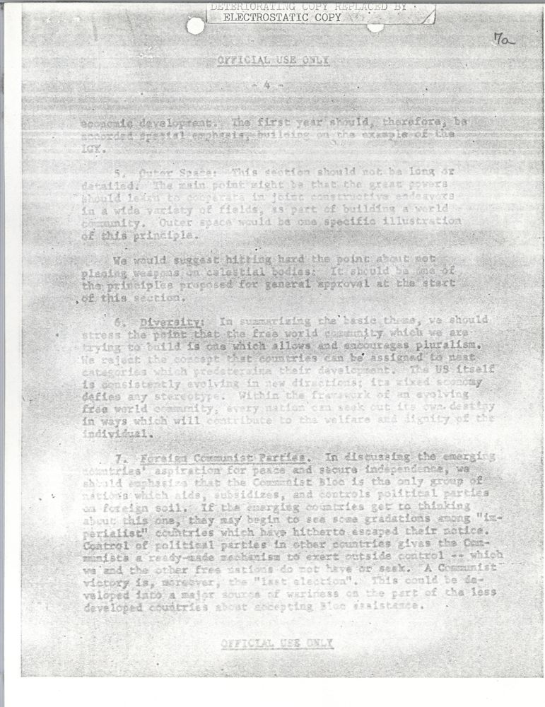 the speech given by president kennedy essay With the 50th anniversary of john f kennedy's death approaching, many are reflecting on the life and legacy of the former president kennedy was shot.
