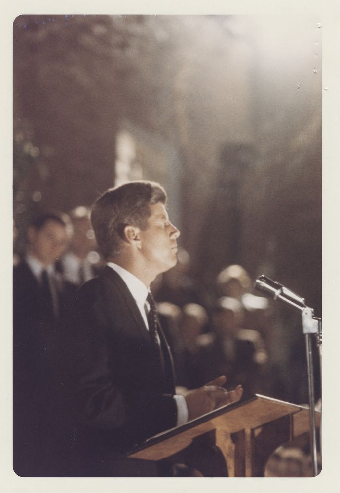 john f kennedy vs lynden b essay Kennedy vs nixon essaysboth john f kennedy and richard nixon were elected to congress in 46, a year in which the new deal took a serious beating as the republicans regained control of congress on the slogan had enough.