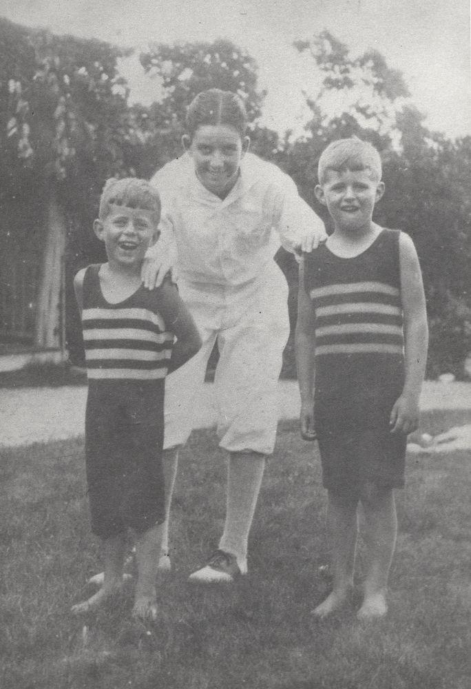 Photograph, John F. Kennedy and Joseph P. Kennedy, Jr. - John F ...