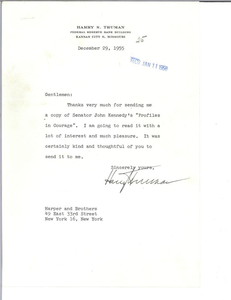 President Harry S. Truman Essay