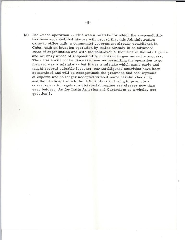 John F Kennedy Essays
