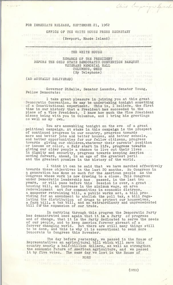 jfk essay questions Harvard kennedy school's belfer center has created this site as a resource for the cuban missile crisis  questions 3 worksheets suggested essay  jfk.