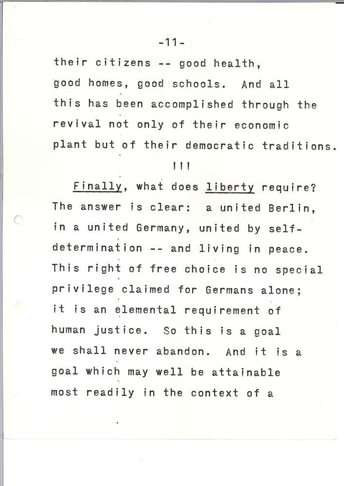 Remarks at Free University of West Berlin, 26 June 1963 - John F ...