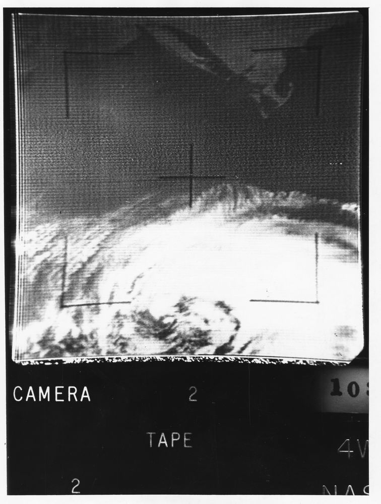 Photograph, Frame from Meteorological Satellite Tiros IV of Cape Cod ...