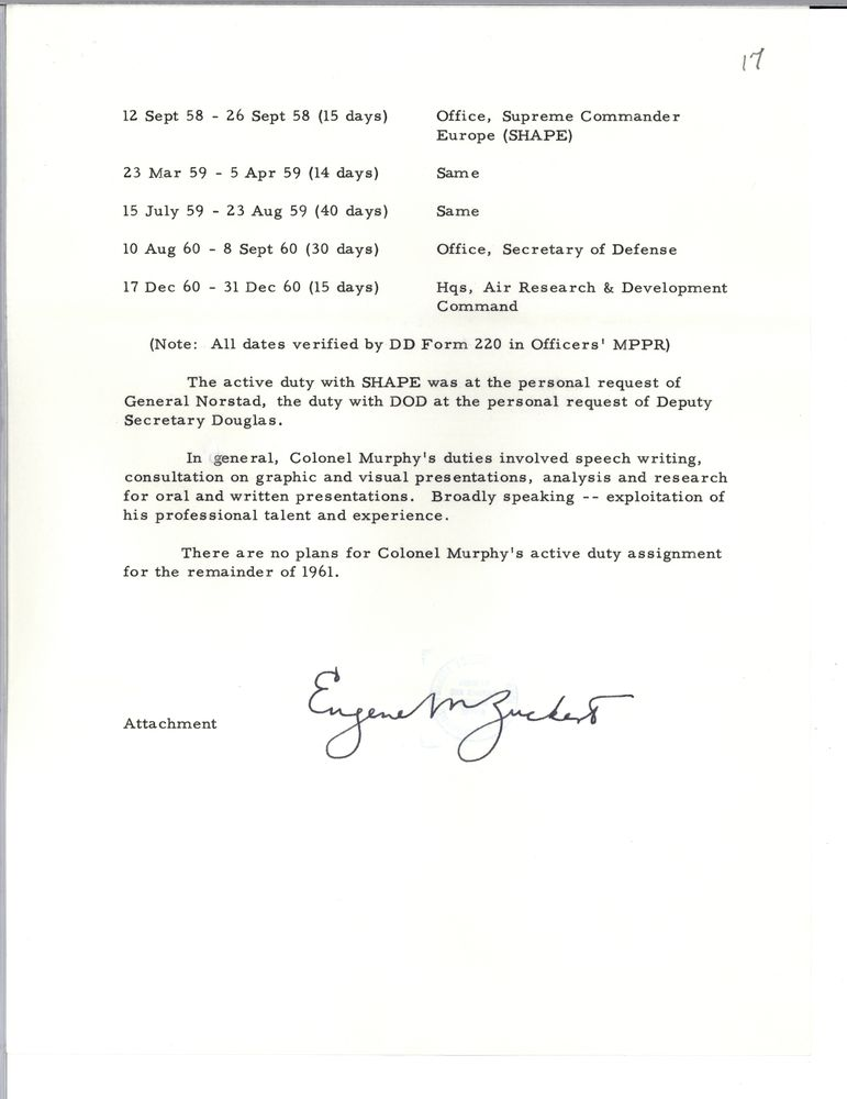 Air Force, 1961 - John F. Kennedy Presidential Library & Museum