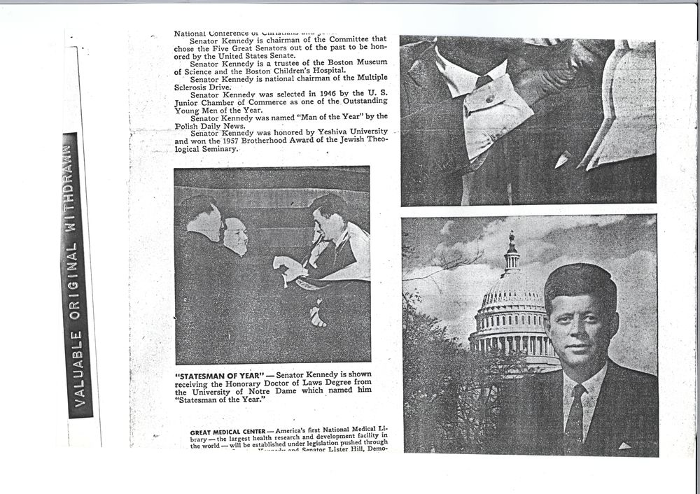 """kennedy as a successful president essay Kennedy's presidency and analyze kennedy's role in them the aim  confirms,  that """"money was certainly indispensable to kennedy's success"""" (25) joe ."""