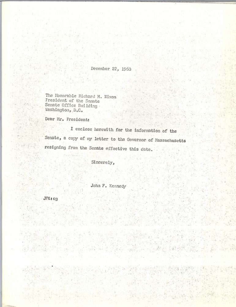 View Parent Collection And Finding Aid  Nixon Resignation Letter