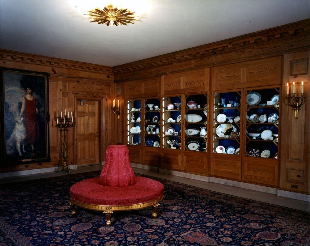 Kn C16073 China Room White House John F Kennedy