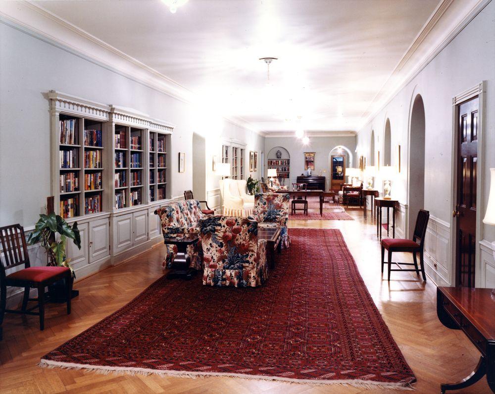 KN-C16129. Family Living Quarters, White House - John F. Kennedy ...