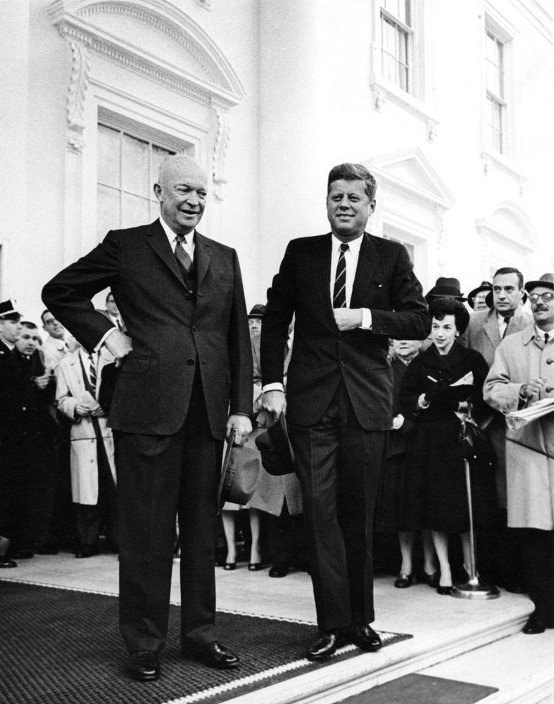 eisenhower and kennedy 437 discuss: eisenhower kennedy and civil rights discussion us history  sem 2 points possible: 15 date: ______ before you begin answer the questions .