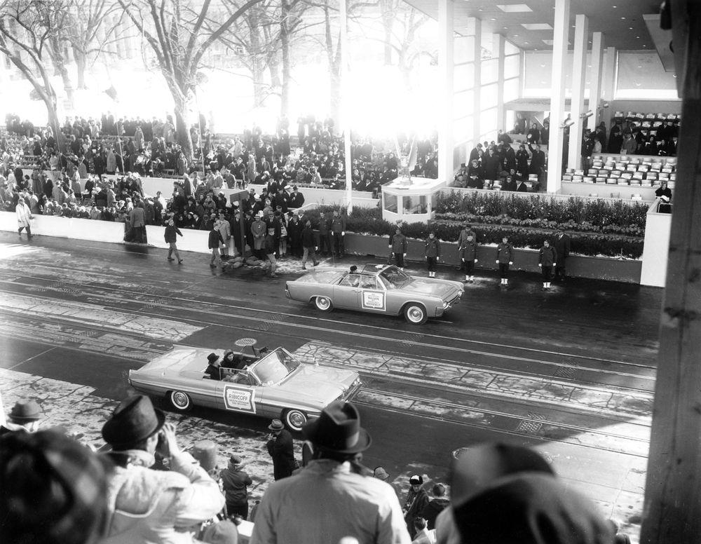 Ar6280 1m Inaugural Parade For President John F Kennedy