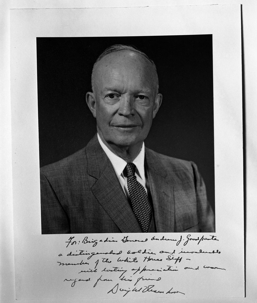dwight d eisenhower essay introduction Winston churchill: the painter by churchill, winston (artist) dwight d eisenhower (introduction) and a great selection of similar used, new and collectible books available now at abebookscom.