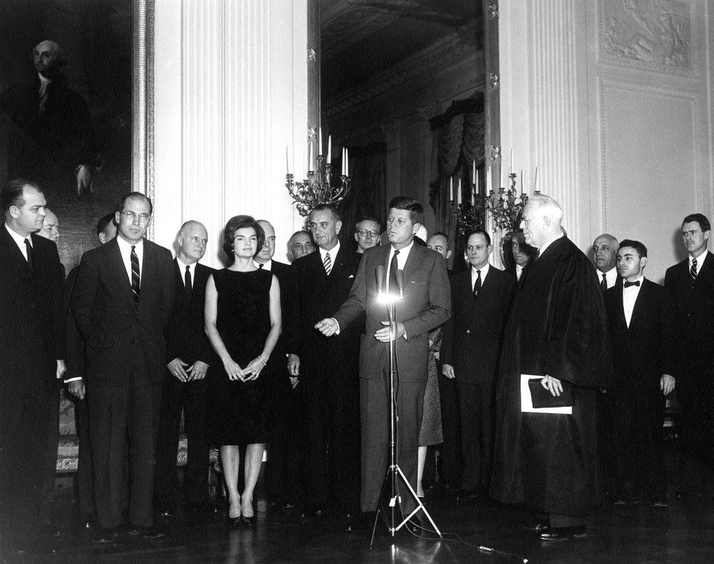 Ar6302 D President John F Kennedy Jacqueline Kennedy