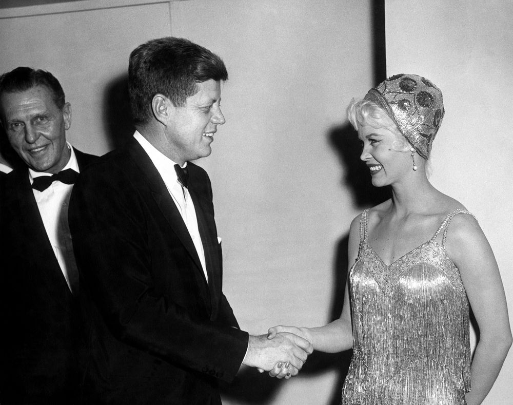 ... Kennedy with Guests at White House Correspondents' Association Dinner