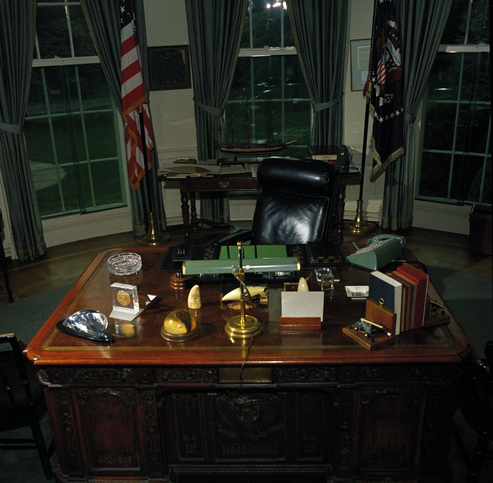 oval office desk john f kennedy presidential library