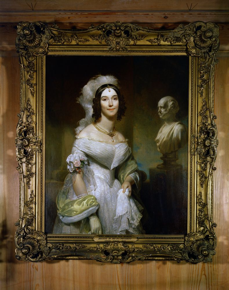 White House Paintings Mrs Andrew Jackson Donelson