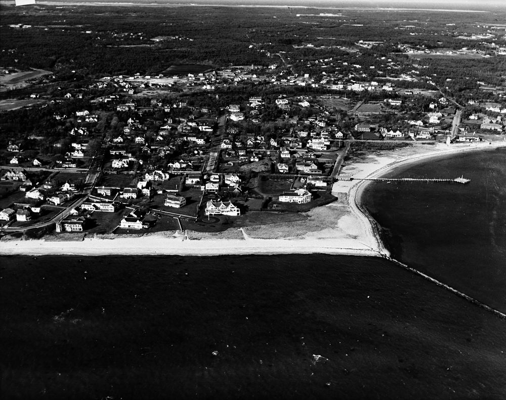 St 49 2a 61 Aerial View Of Kennedy Compound In Hyannis