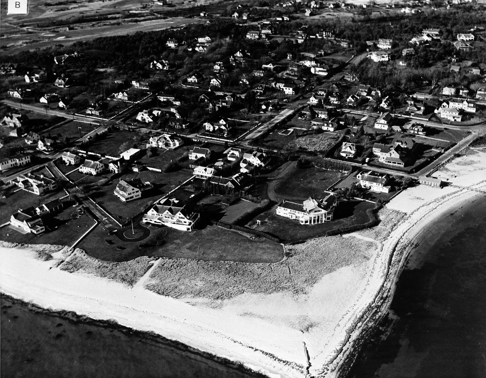 St 49 2b 61 Aerial View Of Kennedy Compound In Hyannis