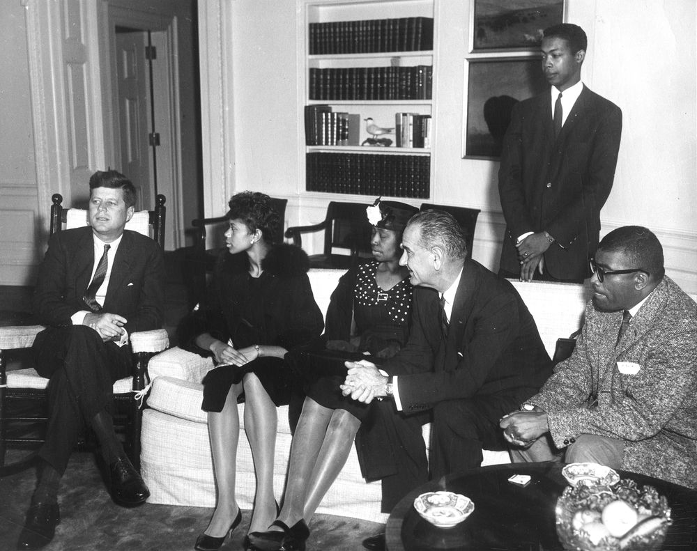 Visit Of Wilma Rudolph Three Time Olympic Gold Medalist