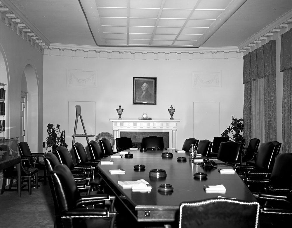 Cabinet Room, views - John F. Kennedy Presidential Library ...
