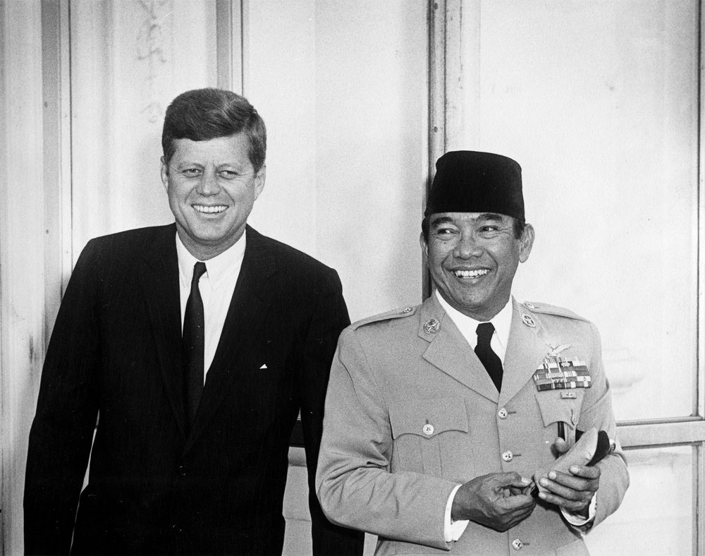 sukarno essay Sukarno and hatta unilaterally declared indonesian independence on 17 august  1945  9 see james angel's essay, 'australia and indonesia 1961–1970',.