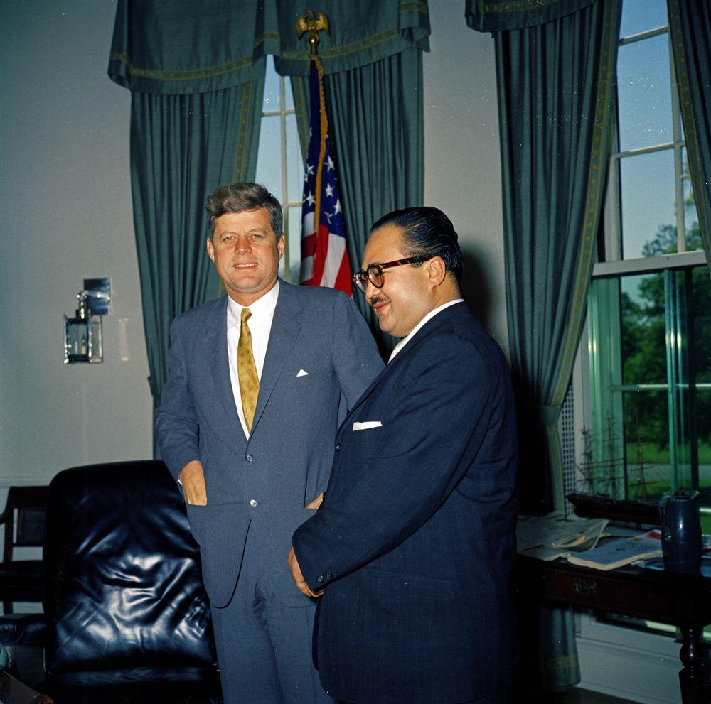 KN-C17692. President John F. Kennedy Meets with Ambassador of Nepal ...