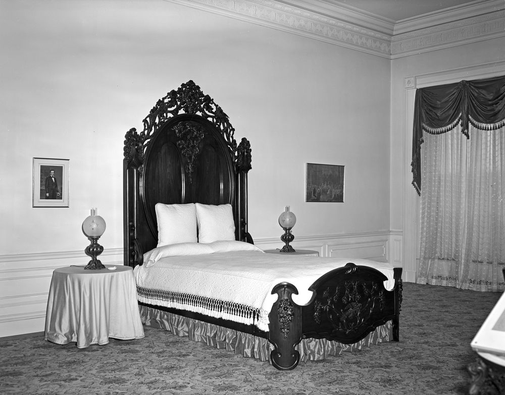 kn 17994 lincoln bedroom furniture furnishings john f kennedy presidential library museum