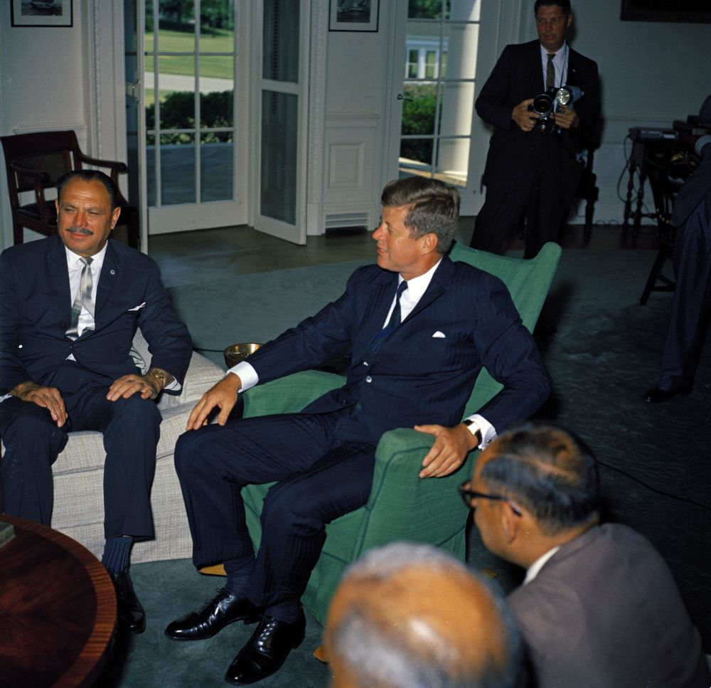 Meeting With Muhammad Ayub Khan President Of Pakistan 3