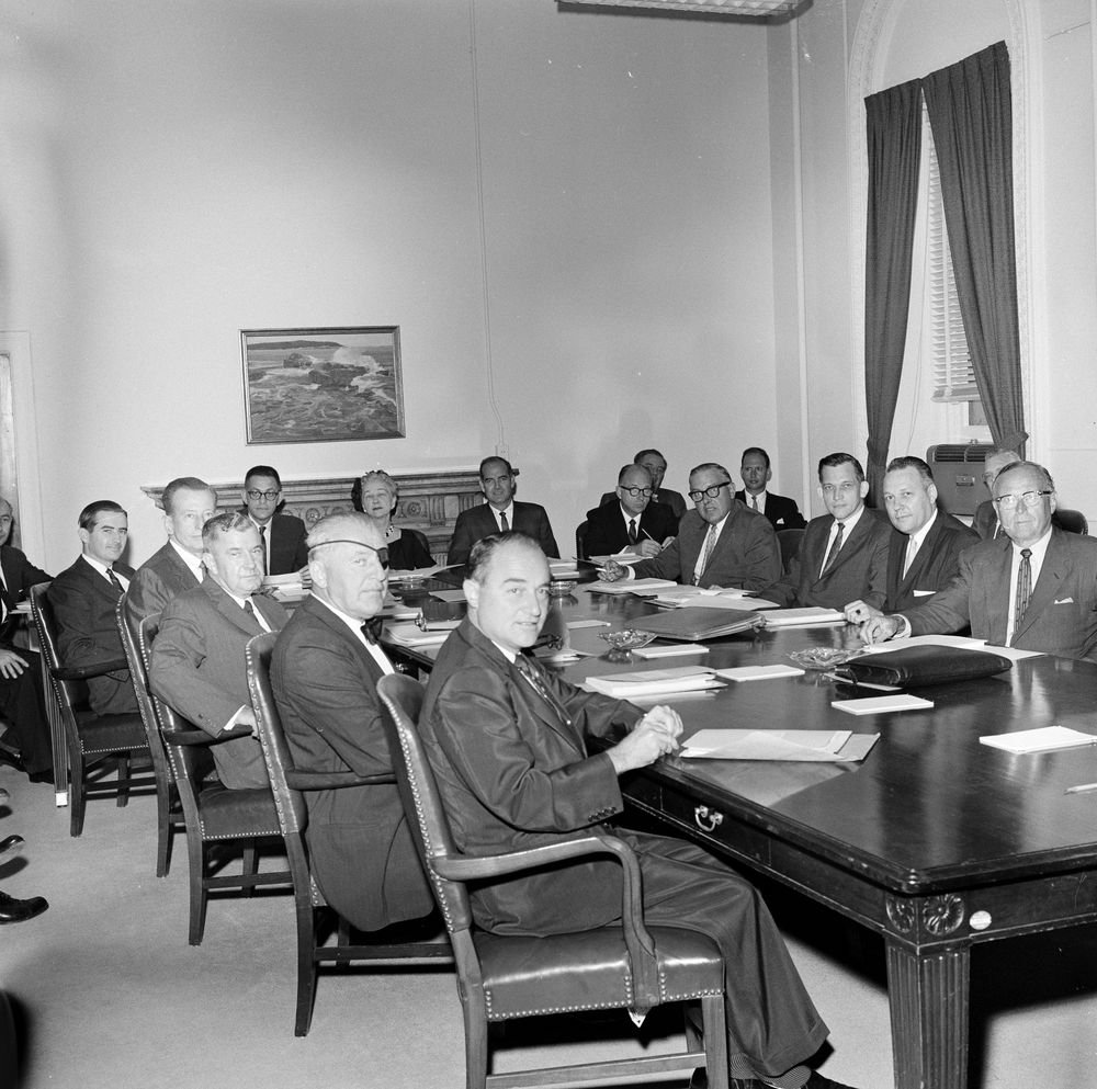 Flipboard Richard Nixon Tried To Invoke Executive: KN-18594. Meeting In Food For Peace Office