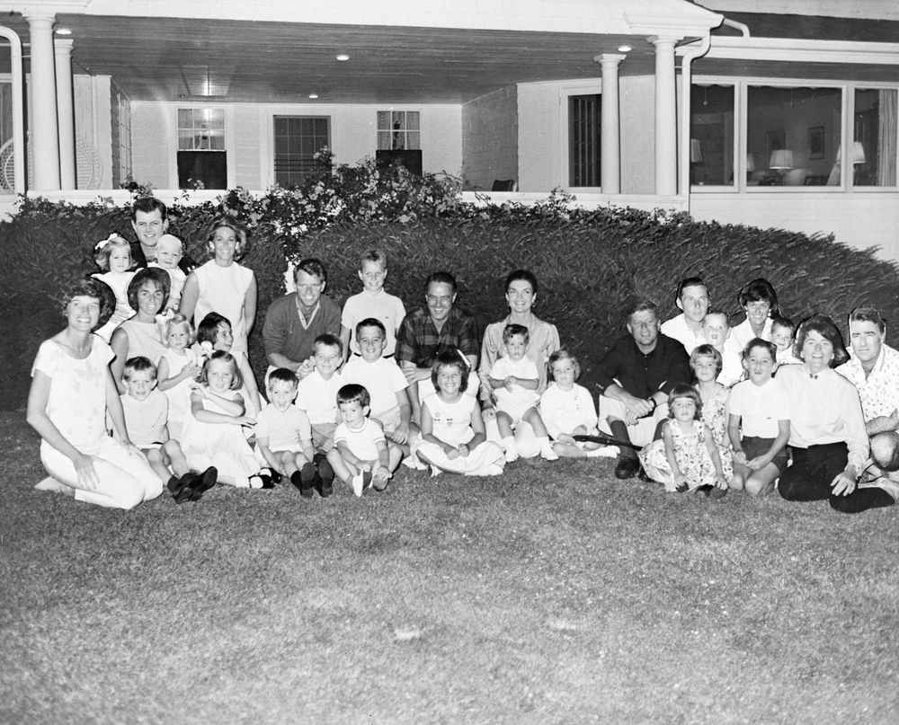 Montage photo of the Kennedy Family - John F. Kennedy Presidential ...