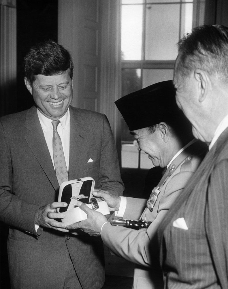 President Sukarno President Ahmed Sukarno of
