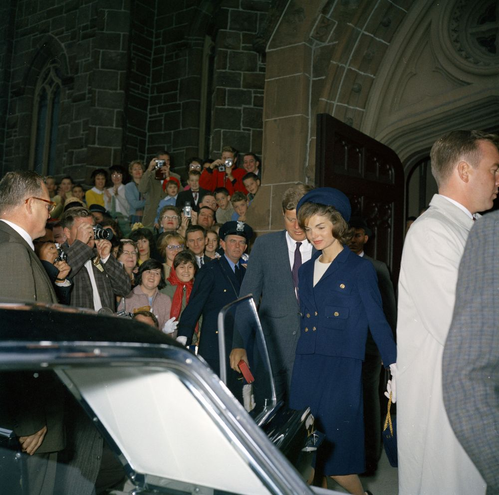 Weekend in Newport, Rhode Island: President Kennedy and First Lady ...