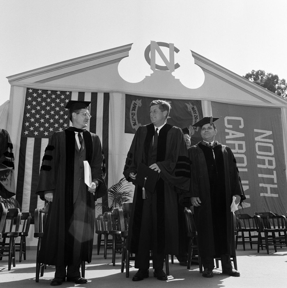 st president john f kennedy gives speech at university president john f kennedy gives speech at university of north carolina chapel hill
