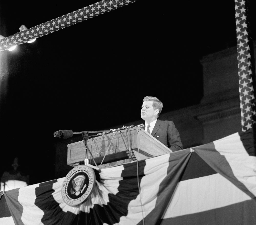 an analysis of john f kennedys profiles in courage A summary of the star senator in 's john f kennedy summary and analysis decisions necessary for our survival, profiles in courage cemented jfk's.