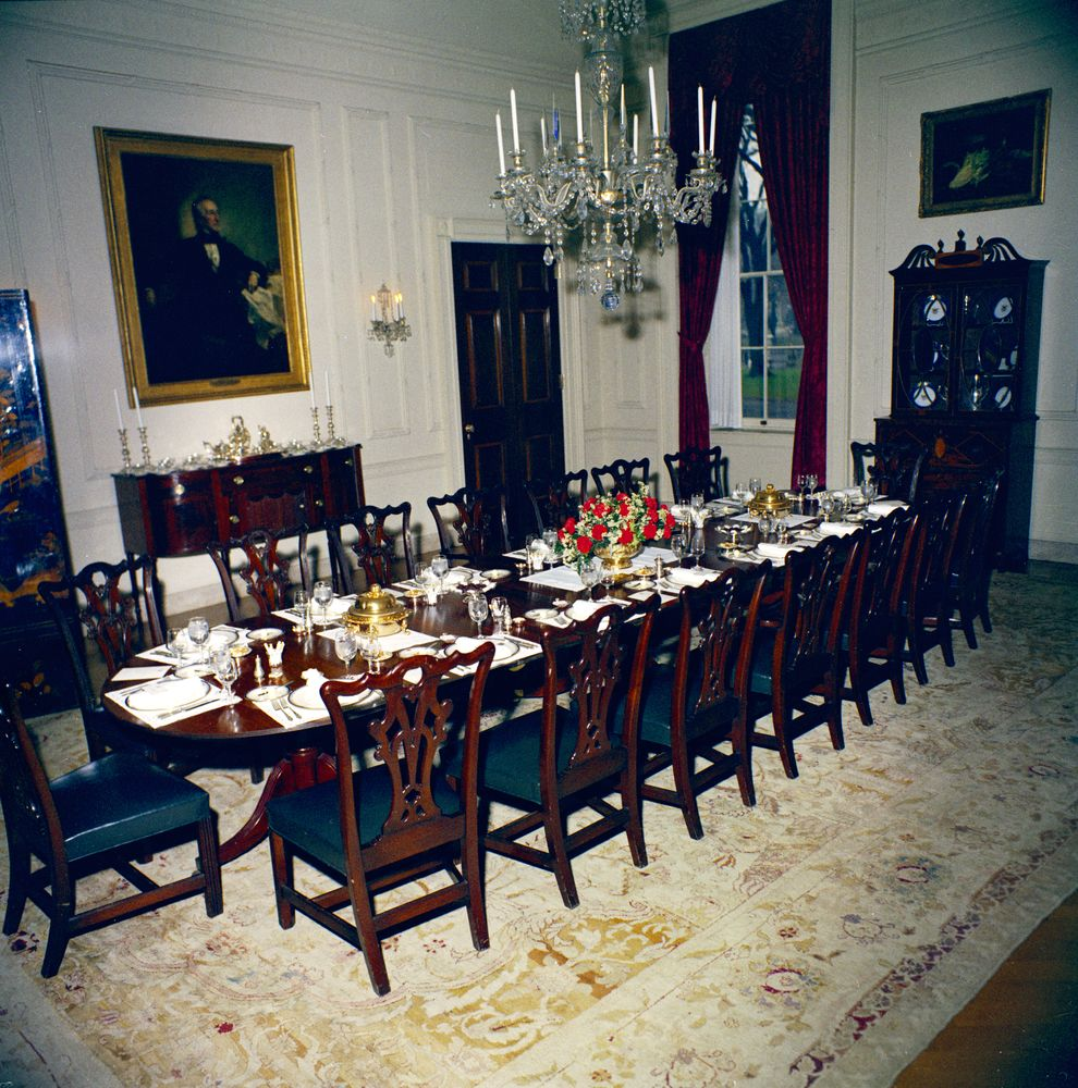 Family Dining Room White House Rooms State Dining Room Family Dining Room Settings