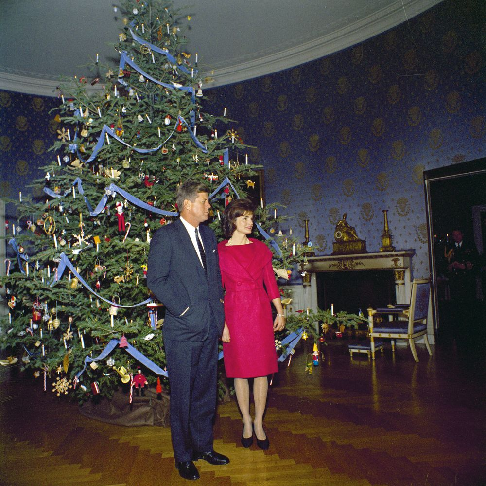 President Kennedy And First Lady Jacqueline Kennedy (JBK