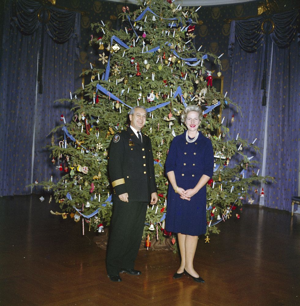 reception for white house staff families john f kennedy. Black Bedroom Furniture Sets. Home Design Ideas