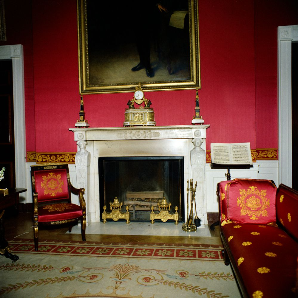 Red Room: John F. Kennedy Presidential Library