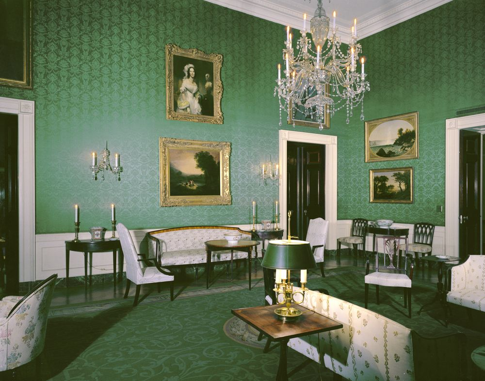White House Rooms: Red, Green, Monroe (Treaty), State ...